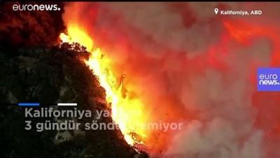 euro - Kaliforniya yangını 3 gündür söndürülemiyor, 8 bin kişi evlerini terk etti