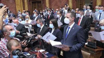 hukumet - Sırbistan'da genel seçimlerin ardından ilk meclis oturumu yapıldı - BELGRAD