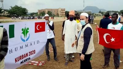 Türk STK'ler Nijerya'da 35 bin aileye kurban eti ulaştırdı