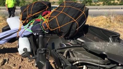 cenaze - Devrilen motosikletin sürücüsü öldü - ESKİŞEHİR