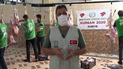 İHH, Suriye'de 400 bin kişiye kurban eti ulaştırdı - İDLİB