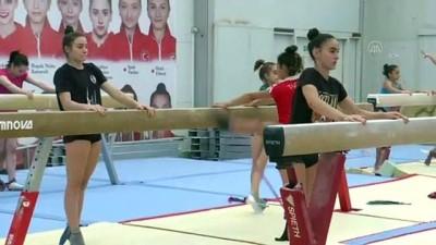 yaris - Milli cimnastikçi Nazlı Savranbaşı, yarışmaları bekliyor - İZMİR