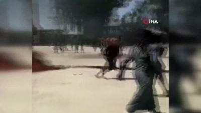 protesto -  - Suriye'de halk ile YPG/PKK'lı teröristler arasında çatışma: 9 yaralı