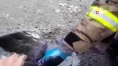kurtarma operasyonu -  Kahraman itfaiyeciler 3 canı ölümden böyle kurtardı