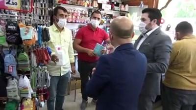 allah -  Ağrı'da maske ve sosyal mesafe denetimi