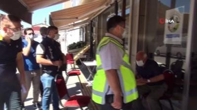 belediye baskani -  Ahlat'ta geniş kapsamlı korona virüs denetimi yapıldı