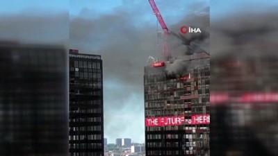 yukselen -  - Brüksel'de Dünya Ticaret Örgütü binasında yangın
