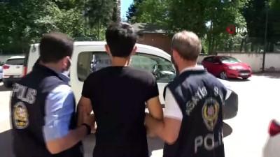basin mensuplari -  Eşiyle barışmak için gittiği evde dehşet saçan damat tutuklandı