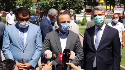 basin mensuplari -  İçişleri Bakan Yardımcısı İsmail Çataklı Malatya'da