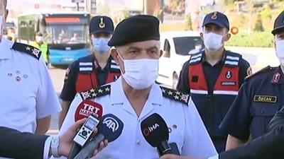 """Jandarma Genel Komutanı Arif Çetin: """"Covid-19 ile mücadele Türkiye'de son derece iyi durumda"""""""
