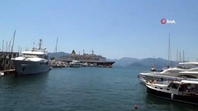 ingiltere -  Lüks yolcu gemisi Marmaris'e bu kez yolcusuz geldi