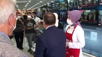 belediye baskani -  Ümraniye'de kaymakam ve belediye başkanı koronavirüs tedbirlerini denetledi