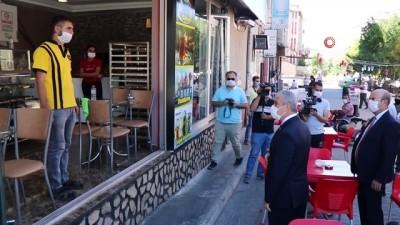 belediye baskani -  Vali Akın:'Korona virüs sürecini hep birlikte atlatacağız'
