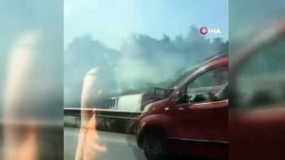 tahkikat -  Bursa  İstanbul karayolunda korku dolu anlar