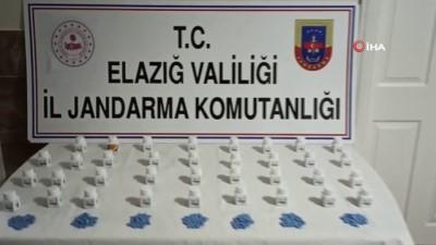 Elazığ'da bin 50 adet uyuşturucu hap ele geçirildi