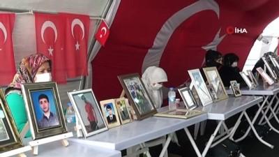 teror orgutu -  HDP önündeki ailelerin evlat nöbeti 340'ıncı gününde