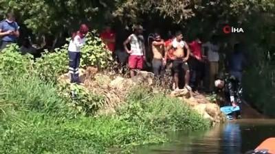 Kanalda yüzerken kaybolan 17 yaşındaki Sezgin'i 15 dalgıç arıyor