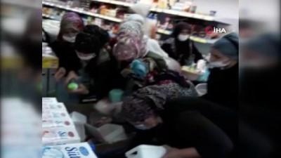 yaris -  Mardin'de korona virüse rağmen pes dedirten görüntü...Markette indirim izdihamı yaşandı