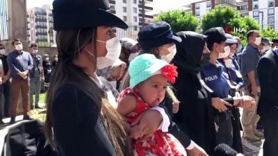 cenaze araci -  Siverek'te şehit polis memuru için tören düzenlendi