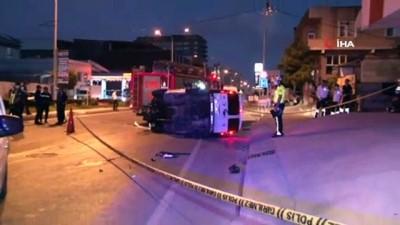 Sancaktepe'de Emniyet kemeri takılı olmayan sürücü, kazada, araçtan savrularak öldü