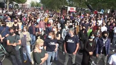 - Berlin'de Moria'daki mülteciler için miting düzenlendi