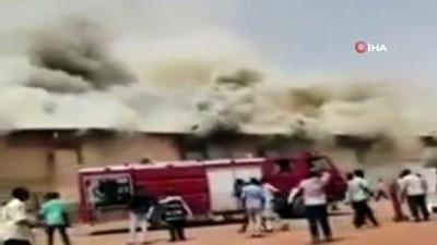 - Sudan'da ilaç deposunda yangın