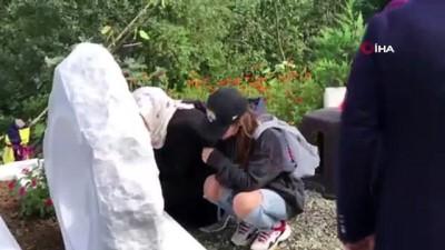 Umudun ve azmin simgesi Neslican Tay mezarı başında anıldı