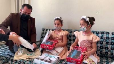 İkiz kız kardeşler 'Suriye' ve 'Türkiye', isimleriyle dikkati çekiyor - ADIYAMAN