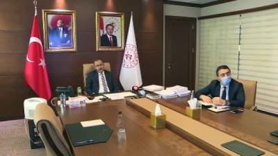 Bakan Kasapoğlu, WADA Başkanı Banka ile görüştü - ANKARA