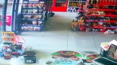 supermarket -  Tırnakçılar kamerada