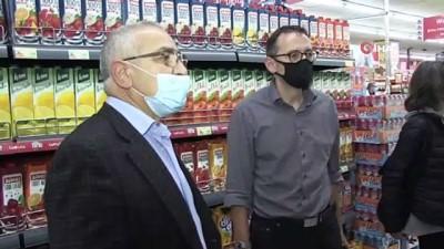 supermarket -  - Almanya'da Mitte Belediye Başkanı Dassel Türk esnafı ziyaret etti