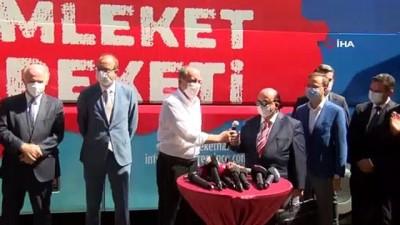İnce CHP'den istifa etmeyeceğini açıklayıp Gül'e başarılar diledi