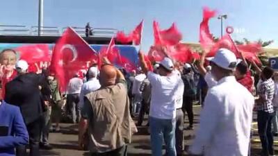 Muharrem İnce, memleket hareketini Sivas'ta başlattı