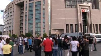 Çağlayan Adliyesi önünde silahlı çatışma: 4 gözaltı
