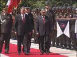 Abdullah Gül İle Singapur Cumhurbaşkanının Görüşmesi