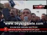 protesto - Eylem İçin Vapuru Seçtiler Videosu