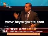 ataturk kultur merkezi - Erdoğan'dan Yargıya Sitem!
