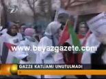 protesto - Gazze Katliamı Unutulmadı Videosu
