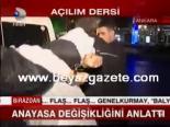 il emniyet mudurleri - Atalay,anayasa değişikliğini anlattı