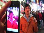 İphone'nuyla Sözde Times Meydanı'nı Hackledi