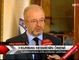 istanbul muftusu - Kurban kesmenin önemi