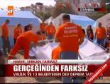 istanbul valiligi - Gerçeğinden farksız tatbikat