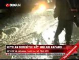 Heyelan nedeniyle köy yolları kapandı online video izle