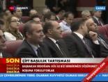 Moldova Başbakanı salonu kırdı geçirdi