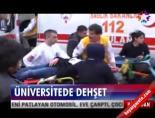 ataturk universitesi - Erzurum, Atatürk Üniversitesi'nde dehşet Videosu