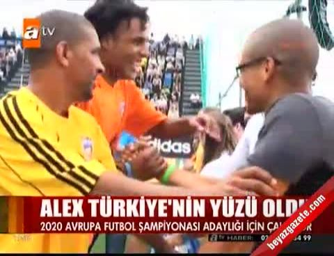 2020 avrupa sampiyonasi - Alex Türkiye'nin yüzü oldu