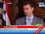 misket bombasi - Suriye'de bombardıman