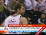 mehmet okur - Mehmet Okur veda etti Videosu