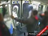 Metrodaki Tartışmada Silah Konuştu