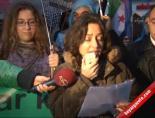 Suriye Konsolosluğu Önünde Esedi Protesto Ettiler